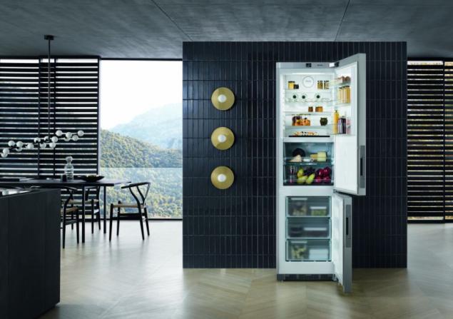 Komfortní a stylové ukládání potravin s chladničkami Miele