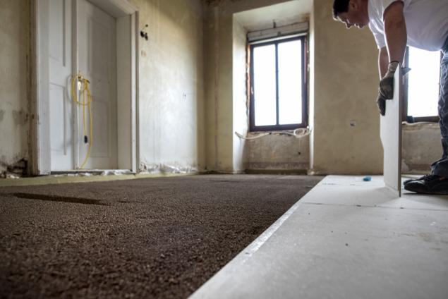 Suchá podlaha Knauf Brio