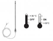 Obr. 1: Varianta topné tyče bez regulátoru teploty