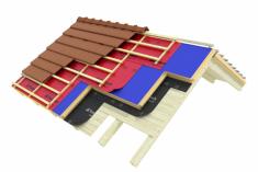 Tepelněizolační systém střechy iRoof (zdroj: Wienerberger)