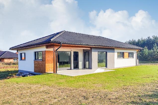 Vzorový dům v Martinově (zdroj: Haas Fertigbau)