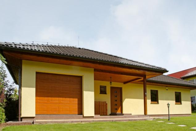 Vzorový dům v Dolanech (zdroj: Haas Fertigbau)