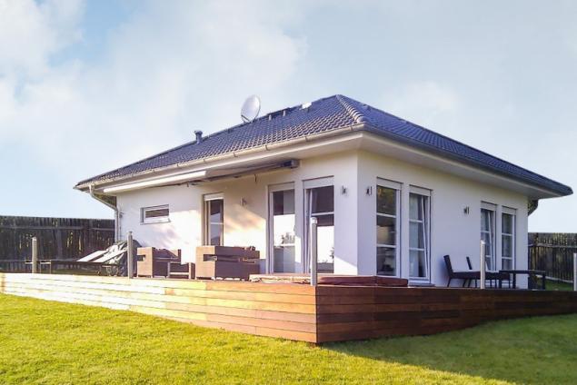 Referenční dům u Děčína (zdroj: Haas Fertigbau)
