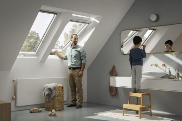 Nové okno VELUX (zdroj: VELUX)
