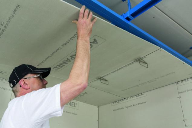 Použití Knauf AQUAPANEL v interiéru i exteriéru
