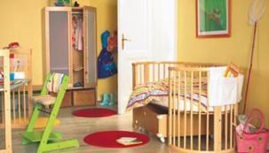 Příprava pokoje na miminko