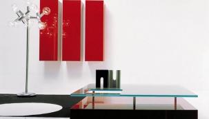 Obývací pokoj v letním barevném ladění